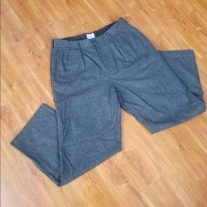 J crew Gray Wool pants Classic Fit size 34x28.